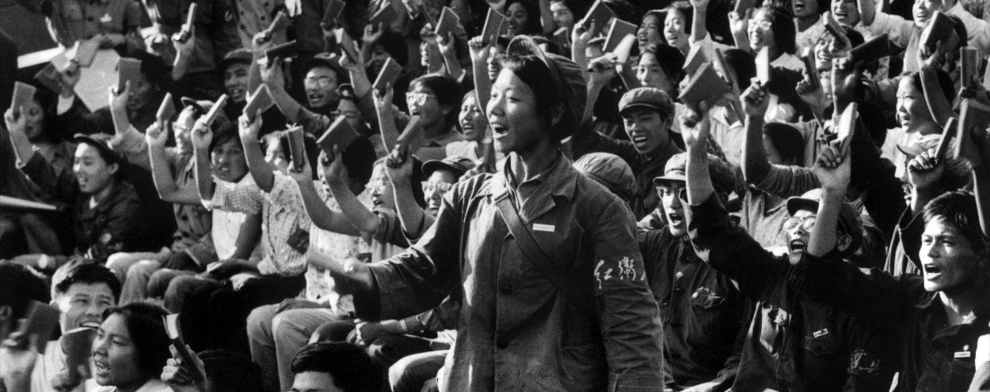 Members of Mao Zedong's Red Guard in Beijing, in 1966. Picture: AFP