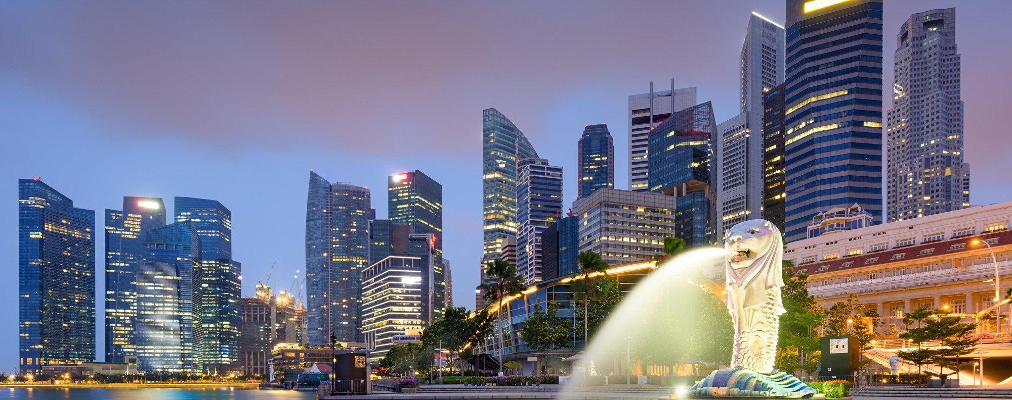 The Singapore skyline. Photo: Handout