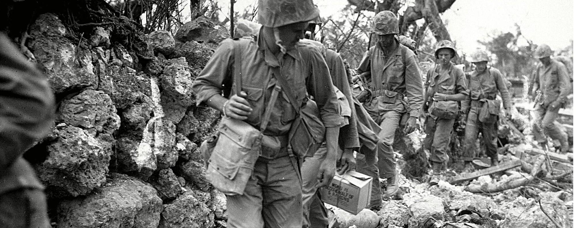 US Marines in Okinawa. Photo: AFP