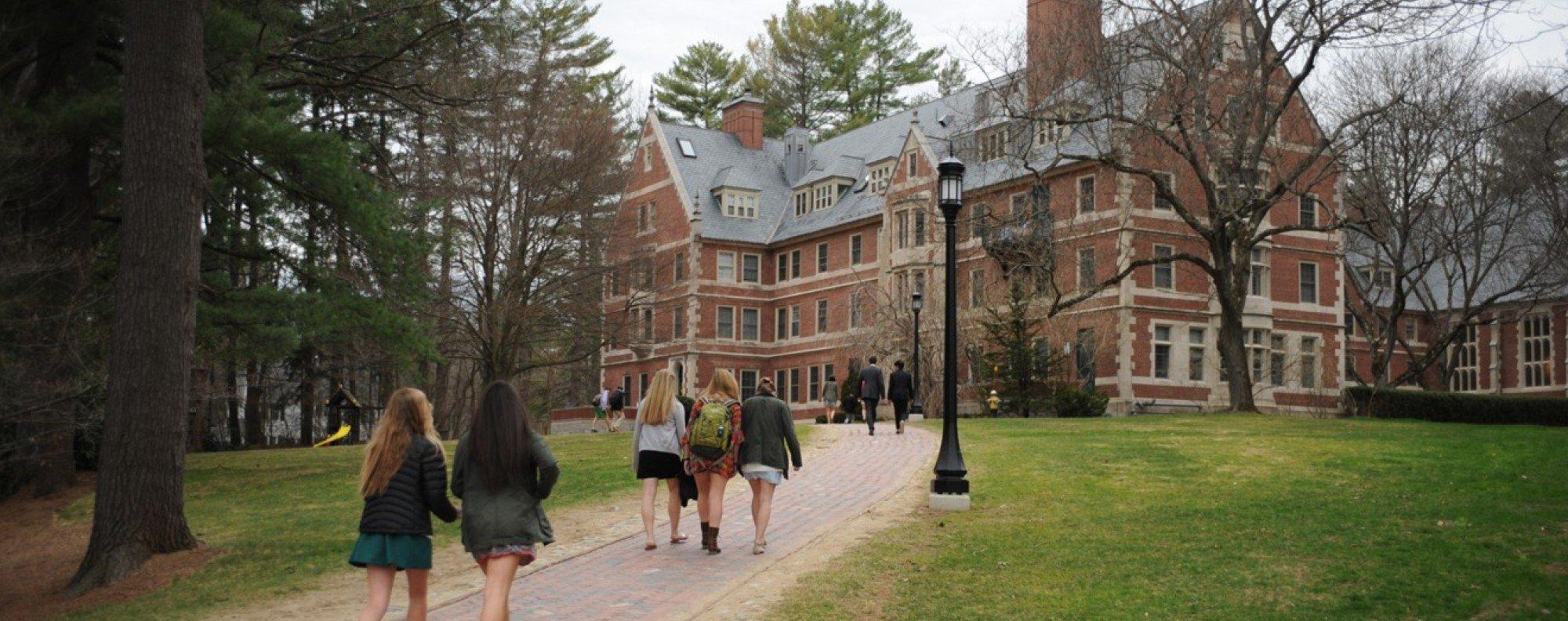 The prestigious St Paul's School, in Concord, New Hampshire, United States.  Picture