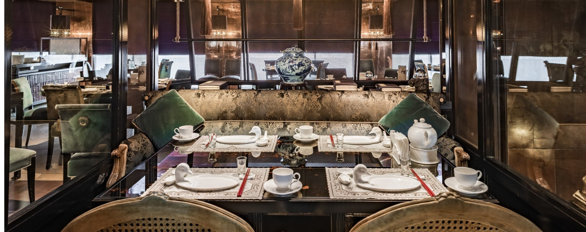 The 'castle glam' interiors of Le Palais, in Taiwan. Picture: Le Palais
