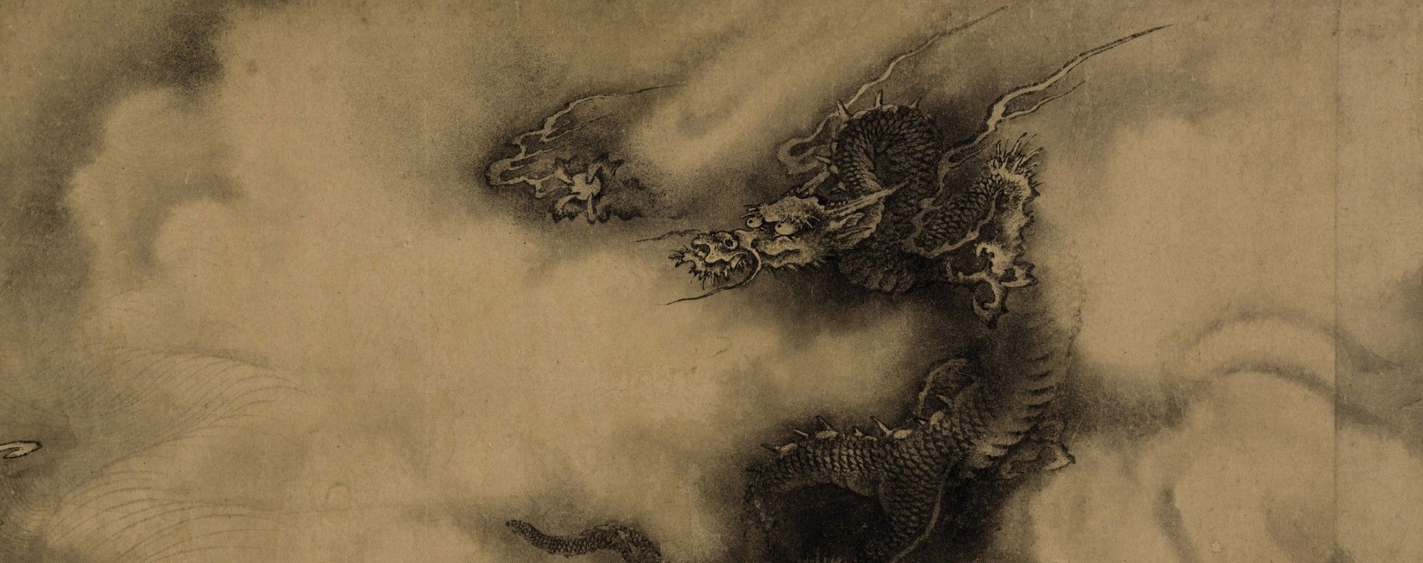 Six Dragons, a 13th-century painting by Chen Rong, which went for US$49 million at auction last year. Picture: Christie's
