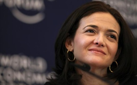 Sheryl Sandberg, chief operating officer of Facebook Inc. Photo: Bloomberg
