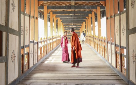 A visit to Bhutan's ancient monasteries is a humbling experience. Photos: Graeme Green