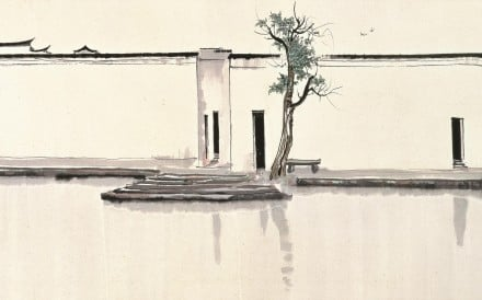 Two Swallows by Wu Guanzhong. Photos: Asian Arts Museum of Paris, Musee Cernuschi, Collection of Hong Kong Museum of Art