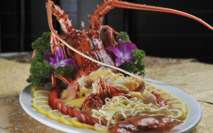Get cracking: lobster yee mien from Chuk Yuen Seafood Restaurant in Happy Valley. Photos: Bruce Yan