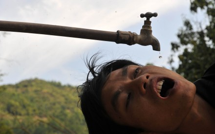 Roughly 21 million people on the mainland suffer from diseases induced by high fluoride levels in drinking water. Photo: Reuters