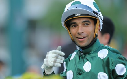 Joao Moreira could be based anywhere. Will he stay in Hong Kong? Photo: Kenneth Chan
