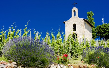 Chapel of St. Christopher, Hermitage, Rhone-Alpes, France