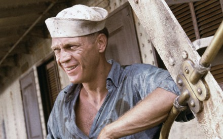 Steve McQueen in The Sand Pebbles, a film set in revolutionary 1920s China and filmed in Taiwan and Hong Kong.