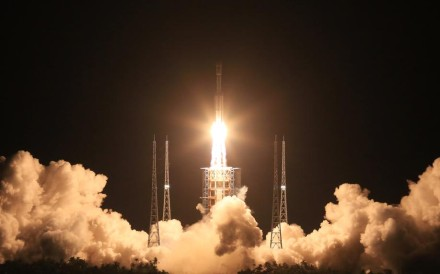 A Long March-7 carrier rocket lifts off from the Wenchang Satellite Launch Centre in Hainan on June 25. Photo: Xinhua