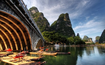 Float down Guilin's Li river—but ditch the tourists first.
