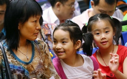 Children in Hong Kong often choose unusual English first names. Photo: SCMP