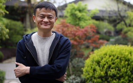 Alibaba founder Jack Ma in Hangzhou, Zhejiang province. Photo: Sam Tsang