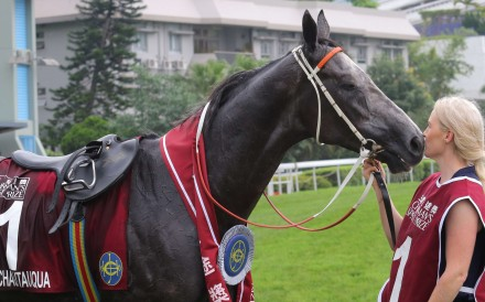 "Chautauqua proved himself the world's best sprinter at Sha Tin on Sunday, but the race set up perfectly for the horse labelled the ""Thunder From Down Under"". Photo: Kenneth Chan"