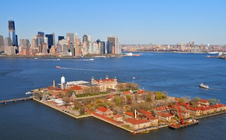 The New York landmark, the arrival point for millions of Europeans,  has been adapted to include the tales of those who have sought a new life in the United States from elsewhere in the world