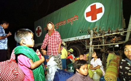 File photo of a Cambodian Red Cross operation. Photo: AFP