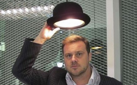 Steve Jones, with a Jeeves pendant light. Pictures: courtesy of Innermost