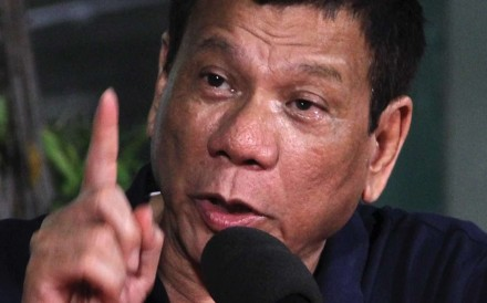 Some 3,000 people have died in Philippine president Rodrigo Duterte's drug crackdown. Photo: EPA