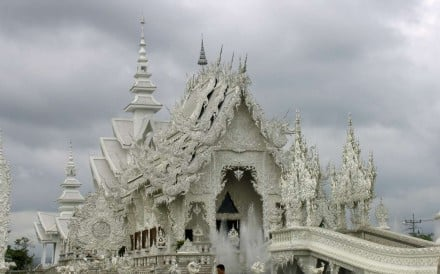The White Temple at Chiang Rai, now within easier reach of Hong Kong. Photo: Adam Nebbs