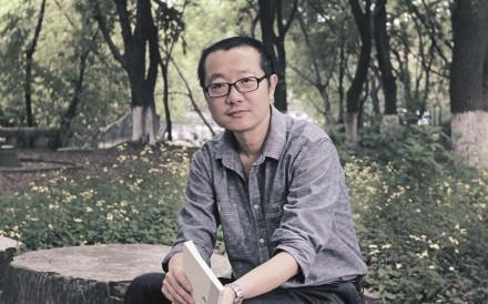 Chinese author Liu Cixin.