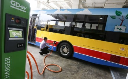 Citybus and New World First Bus have had problems with their electric vehicles, which first hit the road in late December. Photo: Jonathan Wong