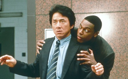 Jackie Chan and Chris Tucker in Rush Hour 2.