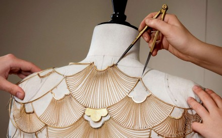 Boucheron's Cape de Lumière was a real challenge for the artisans.