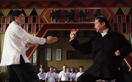 Donnie Yen (left) and Sammo Hung (right) square off in Ip Man 2. Photo: Handout