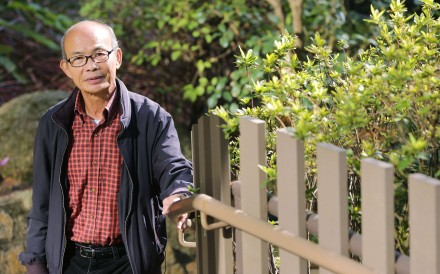Lee Fai-ping progressed from triad member and drug user to rehabilitation worker. Photo: Thomas Yau