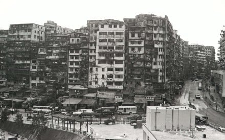 The Kowloon Walled City, which housed over 30,000 people, was torn down by the colonial government in 1994. Photo: SCMP
