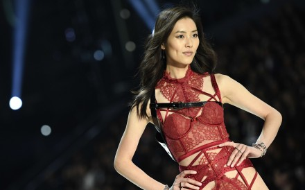 Chinese model Liu Wen present a creation during the 2016 Victoria's Secret Fashion Show at the Grand Palais in Paris on November 30. Photo: AFP