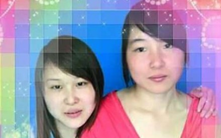 Sisters Ma Panyan, left, and Ma Panhui want justice for their ordeal. Photo: Handout