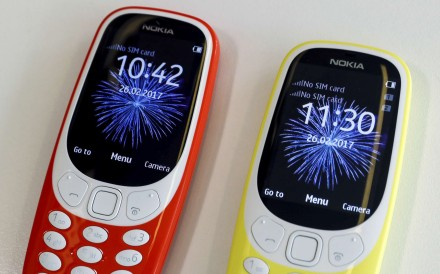 The Nokia 3310 is making a comeback. Photo: Reuters