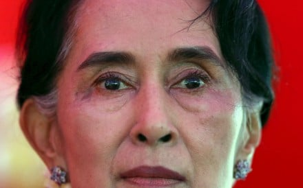 Aung San Suu Kyi has denied the ethnic cleansing of Myanmar's Muslim minority, speaking to the BBC after the UN rights council agreed to investigate allegations against the army. Photo: Reuters