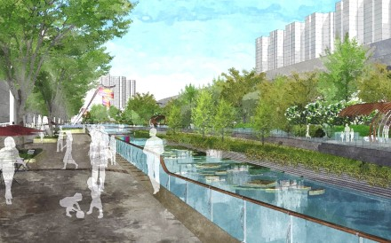 "An artist's impression of the ""Tsui Ping River"". The department said the project would create recreational and ecological value, as well as the nullah's functional value. Photo: Handout"