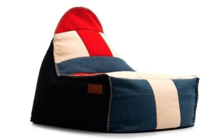 Who wouldn't want to unwind in one of these beanbags - they are comfortably, cosy and stylish too