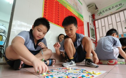 Creative play is part of the curriculum at China's unorthodox micro schools. Photo: Edward Wong