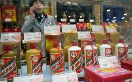 A Kweichow Moutai store in Shanghai. Photo: Imaginechina