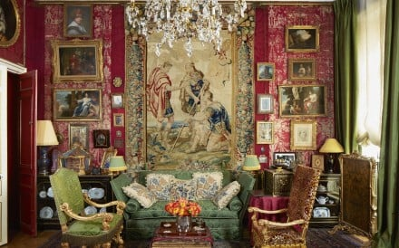 The 18th-century Parisian apartment of British design connoisseur Charles Garnett and his partner, gallery owner Sylvain Lévy-Alban, is steeped in heirlooms and history