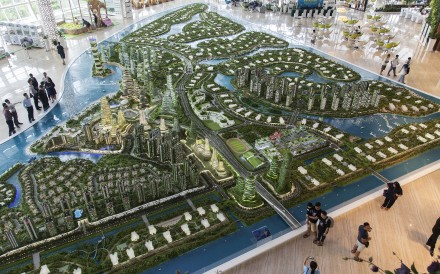 Lured by its proximity to Singapore, investors from China are making a beeline for southern Malaysia, where an ambitious US$100 billion real-estate development called Forest City is changing the face of the landscape