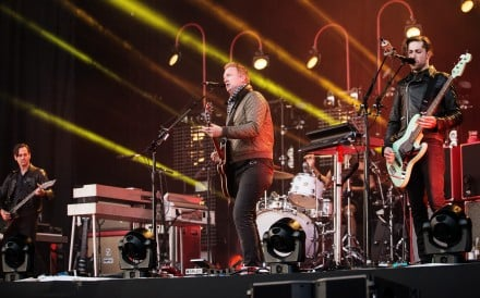 Queens of the Stone Age perform in Leeds, England. Picture: Alamy