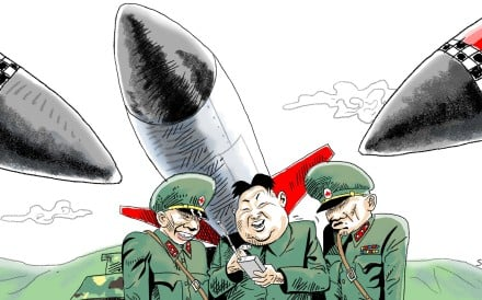 Kim's nuclear test has pushed China and the US a step closer towards cooperation. Illustration: Craig Stephens