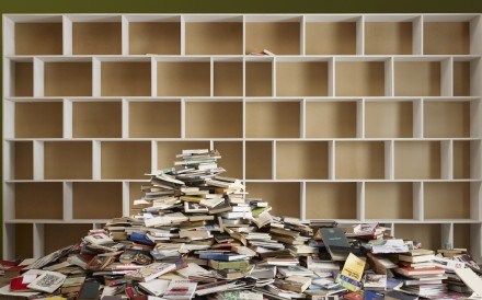 Books are especially prone to piling up over the years and are one of the more obvious targets when it comes to decluttering. Photo: Alamy