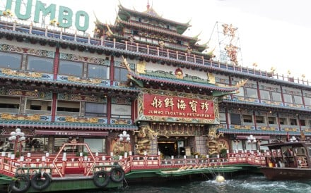 Time for a facelift? The iconic Jumbo Floating Restaurant in Aberdeen, Hong Kong. Photo: Bruce Yan