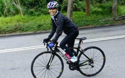 Grace Fong Choi-ying in training. Photos: Grace Fong