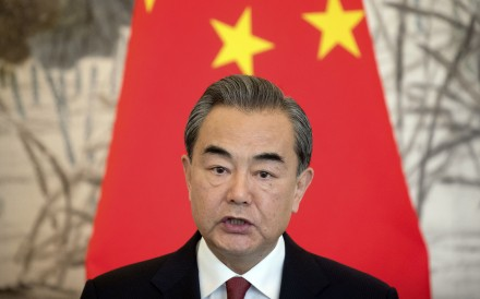 Wang Yi will attend an annual meeting of foreign ministers in New Delhi in December. Photo: AP