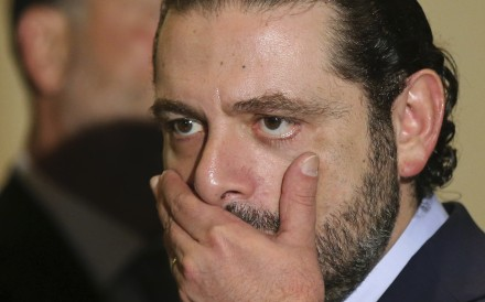 Former Lebanese Prime Minister Saad al-Hariri. File photo: AP