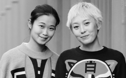Cynthia Mak (left) and Xiao Xiao set up their fashion label in 2014.