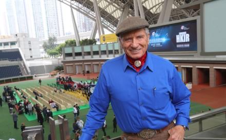 Horse whisperer Monty Roberts at Sha Tin on Thursday. Photos: Kenneth Chan.